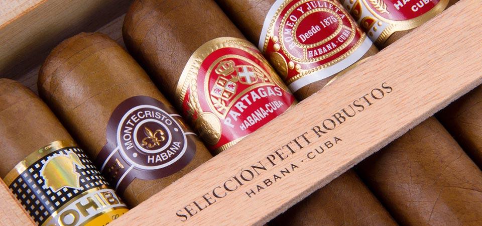selezione speciale sigari cubani robustos